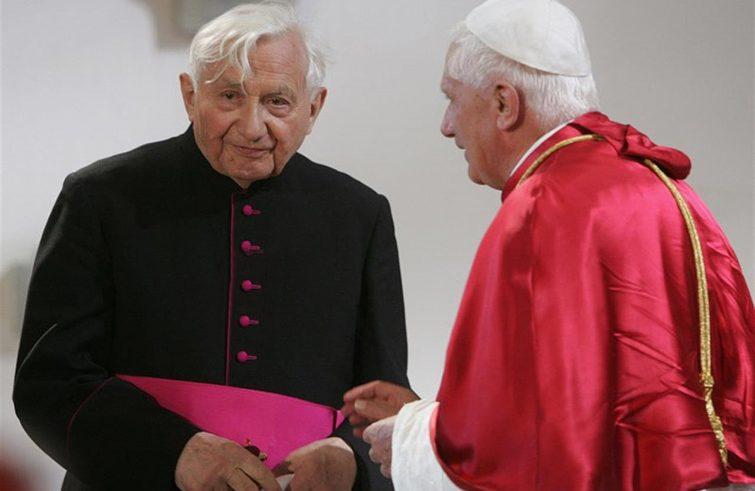 Morto Georg Ratzinger, il fratello del Papa emerito
