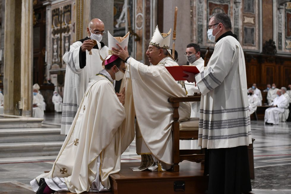 Roma, 18 ottobre 2020: Ordinazione Episcopale di Dario Gervasi